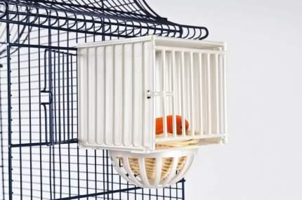 Гнездо  для птиц Imac Nido Plastica, белый, 12х11,5х16 см, в блистере