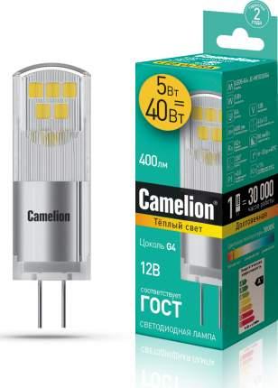 Лампа Camelion LED5-G4-JC-NF/830/G4