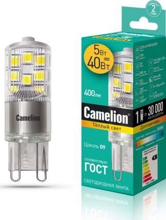 Лампа Camelion LED5-G9-NF/830/G9