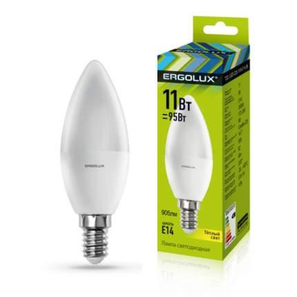 Лампа Ergolux LED-C35-11W-E14-3K