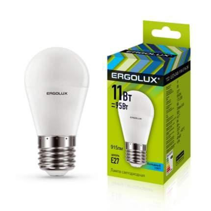 Лампа Ergolux LED-G45-11W-E27-4K
