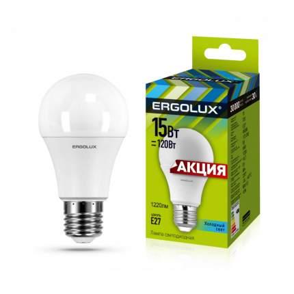 Лампа Ergolux LED-A60-15W-E27-4K