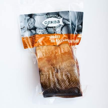 Кета Олива горячего копчения кусок