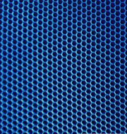Коврик  под туалетный лоток  Зверье мое Чистый Пол, 65х70 см, Синий