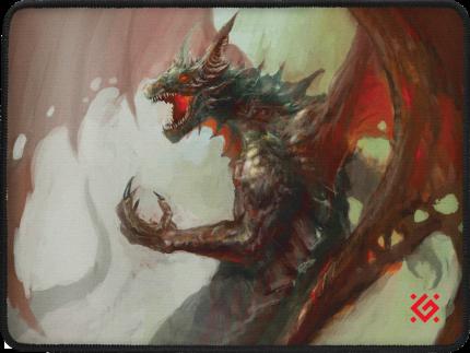 Игровой коврик для мыши Defender Dragon Rage M (50558)