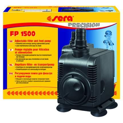 Помпа для аквариума подъемная Sera FP 1500, погружная, 1500 л/ч, 25 Вт