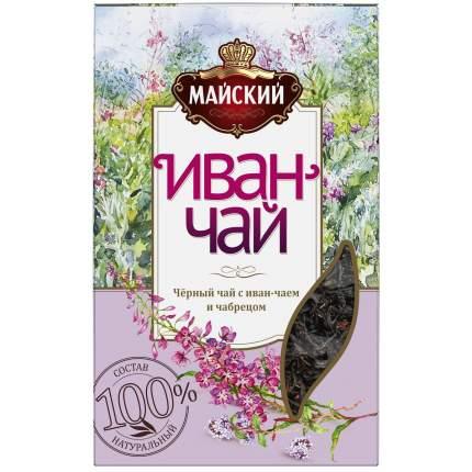 Иван-чай Майский с черным чаем и чабрецом, 75 г