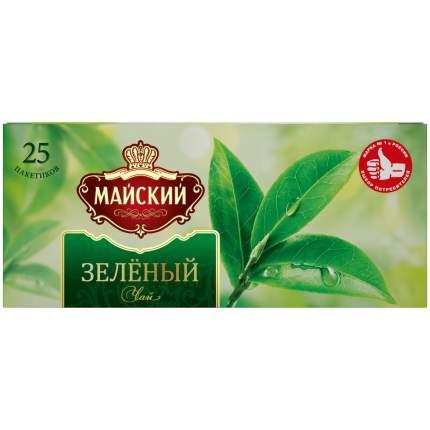 Чай  в пакетиках для чашки, Майский Зеленый 25*2 г.
