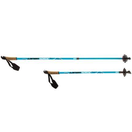 Палки д/скандинавской ходьбы Larsen Tracker 90-135см голубой