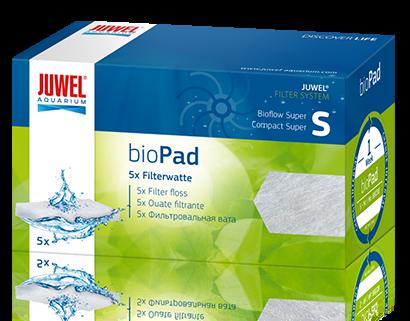 Губка для внутреннего фильтра Juwel Bio Pad S для Bioflow Super/Compact синтепон, 5шт 100г