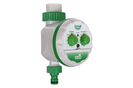 Таймер для полива электронный Green Helper GA-319N шаровый