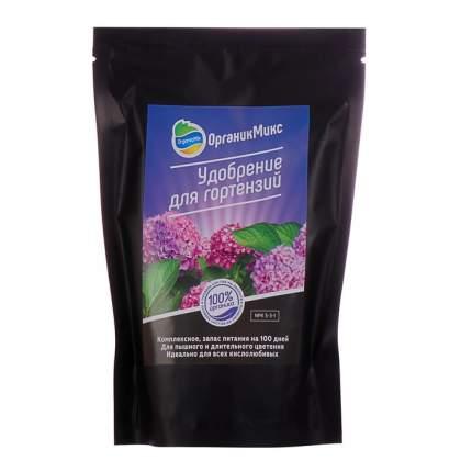 Органическое удобрение OrganicMix Для гортензий 0,2 кг