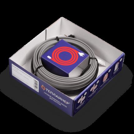 Греющий кабель ТЕПЛАЙНЕР КСН-16, 16 Вт, 1 м, для обогрева труб снаружи