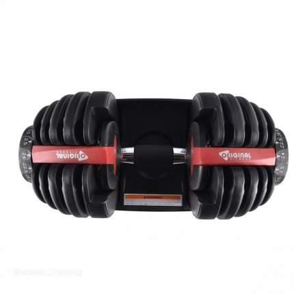 Original Fitness Регулируемая гантель Original Fitness 24 кг (1 шт.)