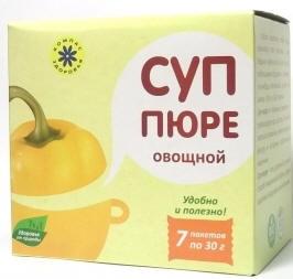 """Суп-пюре """"Овощной"""", 30 гр, """"Компас Здоровья"""""""