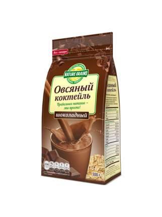 """Коктейль овсяный с шоколадом """"Nature Grains"""", 300 гр, """"Компас Здоровья"""""""