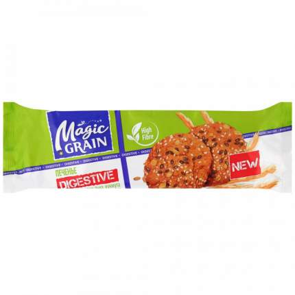Печенье  MAGIC GRAIN DIGESTIVE с овсяными хлопьями и тросниковым сахаром 240г