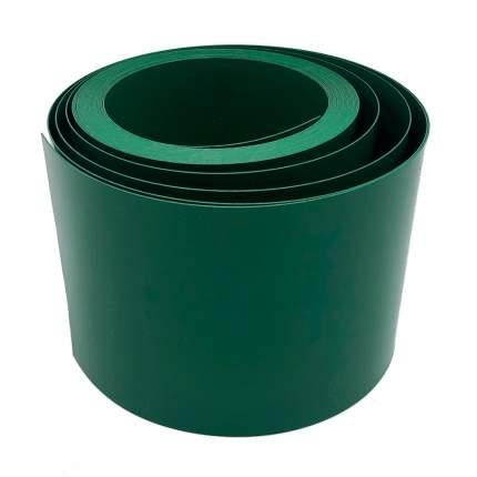 Лента бордюрная прямая Зеленая, 15 см х 9 м