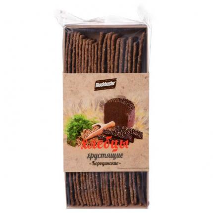 Хлебцы Blockbuster хрустящие бородинские 130г