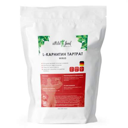 Карнитин L-Carnitine Тартрат (Wirud) - 100 грамм, без вкуса