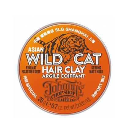 Johnny's Chop Shop Мини-глина для волос устойчивой фиксации 20 гр