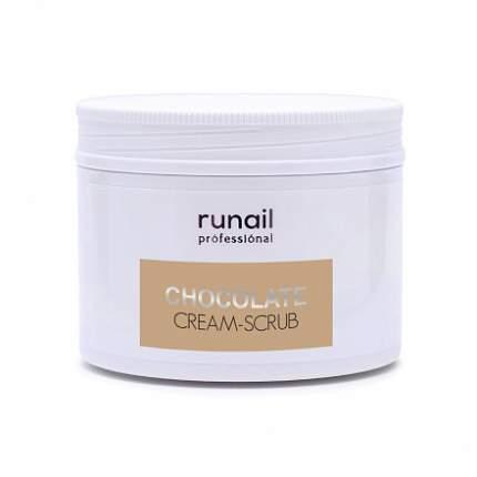 ruNail, Крем-скраб «Шоколад», 150 мл