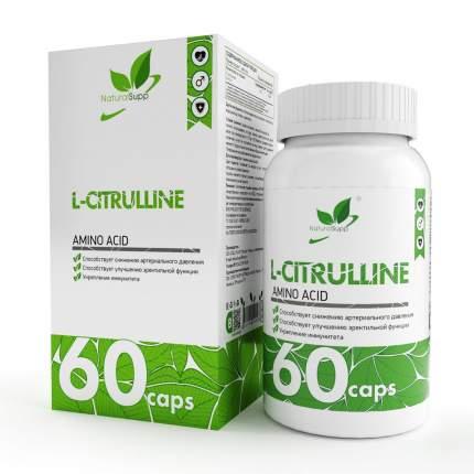L-Citrulline NaturalSupp, 60 капсул