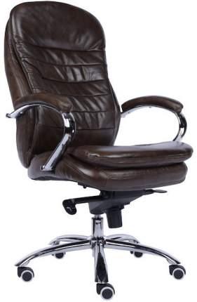 Компьютерное кресло Valencia M/Кожа коричневая