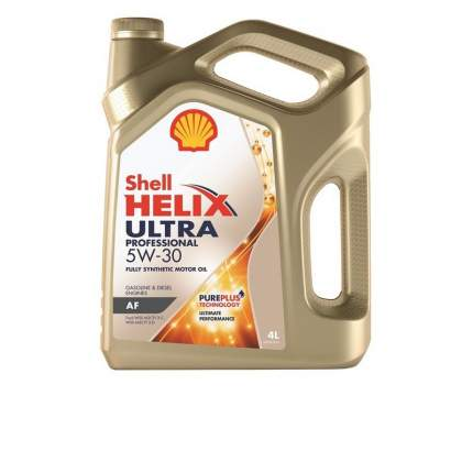 Моторное масло Shell Helix Ultra Professional AF 5W-30 4л