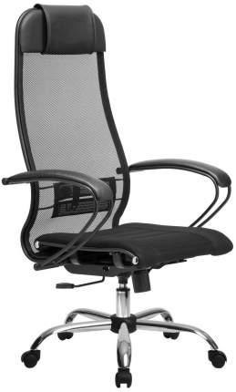 Компьютерное кресло SU-1-BP Комплект 0 Ch/Сиденье ткань черная №20/Спинка сетка черная №20