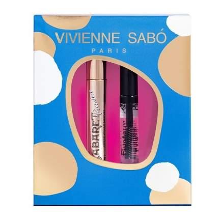 Подарочный набор Vivienne Sabo Тушь Cabaret premiere тон 01 Гель для бровей Fixateur