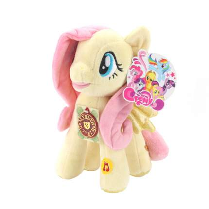 Мягкая игрушка Мульти-Пульти Пони флаттершай My little Pony свет+звук в пак.