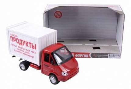Машина инерционная Play Smart со светом и звуком Газель фургон Продукты 24 см