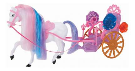 Карета 1 Toy с лошадью для кукол, 1 местная