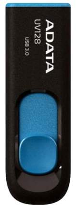 USB-флешка ADATA UV128 Black/Blue 64GB (AUV128-64G-RBE)