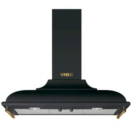 Вытяжка купольная Smeg KC19AOE Black/Gold