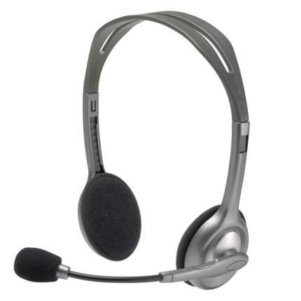 Гарнитура для компьютера Logitech Stereo Headset H110 Black