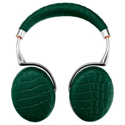 Беспроводные наушники Parrot Zik 3 by Philippe Starck Emerald Green Croc