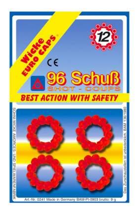 Пистоны Sohni-Wicke 12-зарядные 96 шт. блистер упаковка-карта