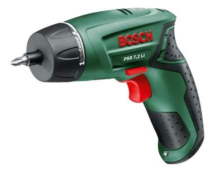 Аккумуляторная отвертка Bosch PSR 7,2 LI 603957720