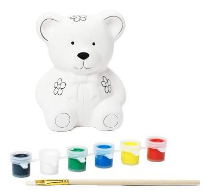 Набор для творчества Bondibon копилка-подарок мишка