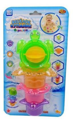 Веселое купание. черепаха-мельница для ванной pt-00527