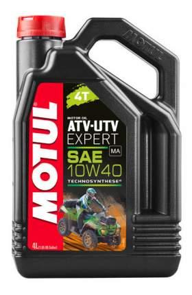 Моторное масло Motul ATV-UTV Expert 10W-40 4л
