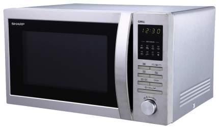 Микроволновая печь с грилем Sharp R-7496ST silver