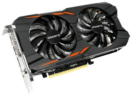 Видеокарта GIGABYTE Windforce GeForce GTX 1050 Ti (GV-N105TWF2OC-4GD)