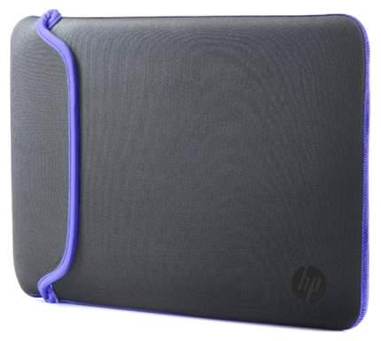 """Чехол для ноутбука 15.6"""" HP Chroma Sleeve фиолетовый/серый"""