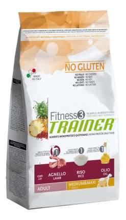 Сухой корм для собак TRAINER Fitness 3 Adult Medium & Maxi, ягненок, рис, 3кг
