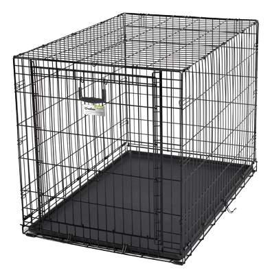 Клетка для собак Midwest Crate однодверная,109х73,6х77,4см, черная