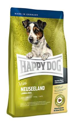 Сухой корм для собак Happy Dog Supreme Mini Neuseeland, для мелких пород,ягненок,рис,0,3кг