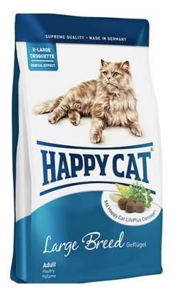 Сухой корм для кошек Happy Cat Fit & Well, для крупных пород, птица, ягненок, яйца, 4кг